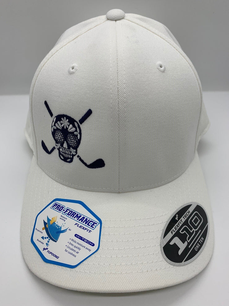 Chuco Golf Hat- White/Dark Navy SS