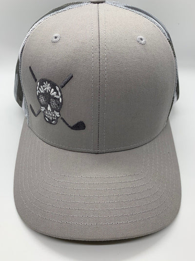 Chuco Golf Hat- Grey Mesh