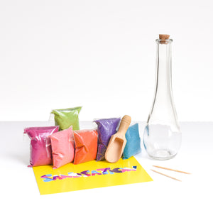 Large Genie Sand Bottle Kit