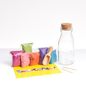 Large Milk Bottle Sand Bottle Kit