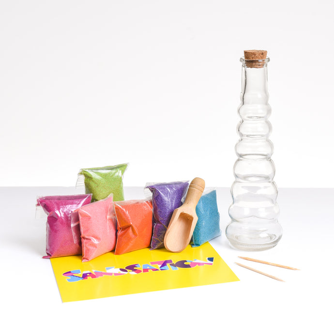 Large Swirl Sand Bottle Kit