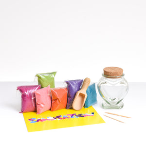 Small Heart Sand Bottle Kit