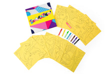 Load image into Gallery viewer, Girls 10pc Sand Art Craft Pack