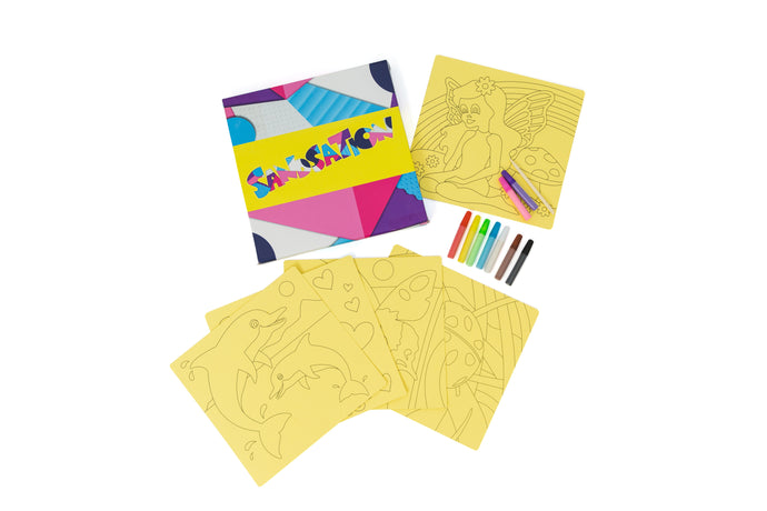 Girls 5pc Sand Art Craft Pack