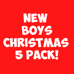 Boys Christmas 5pc Sand Art Craft Pack (includes glitter)