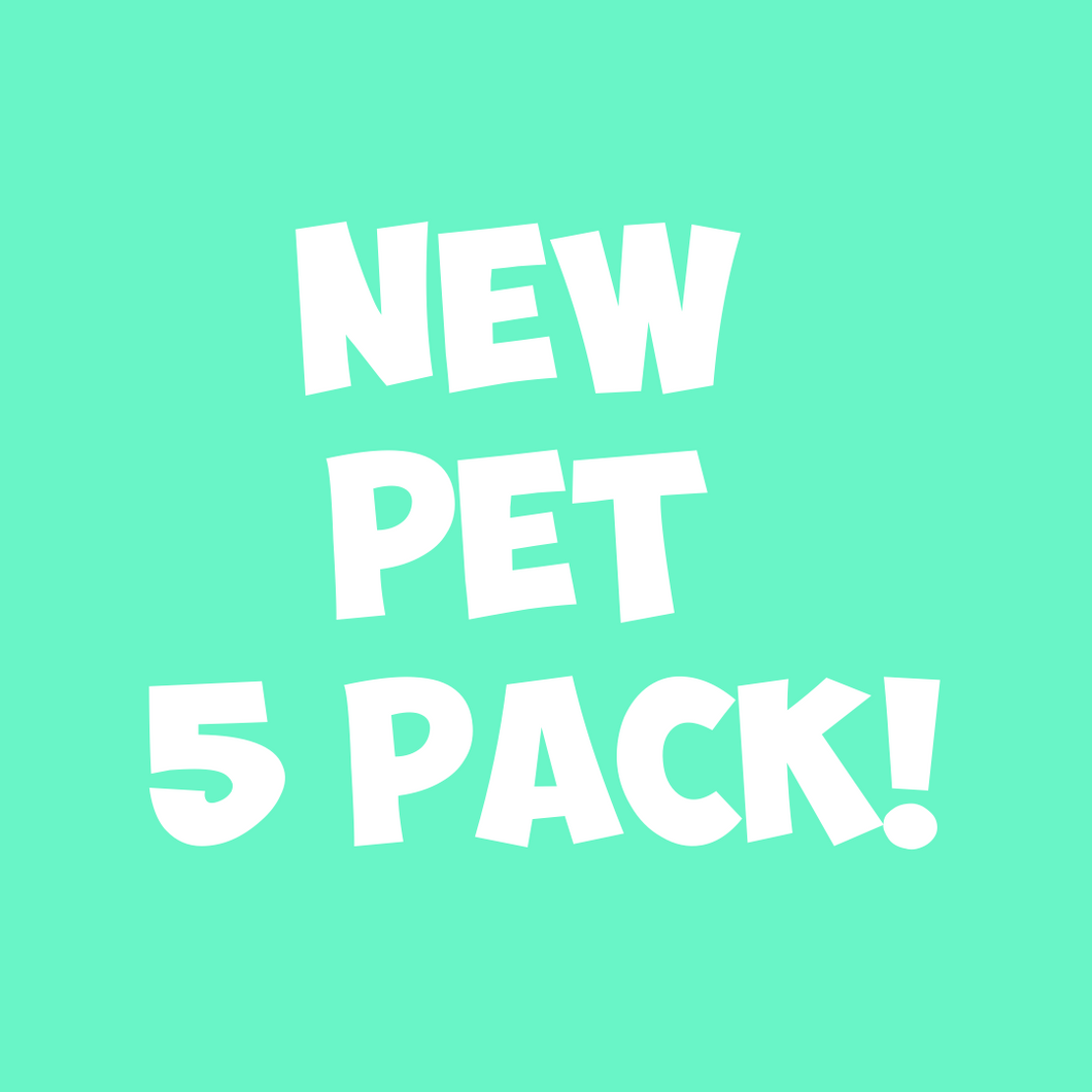 NEW Pet 5pc Sand Art Craft Pack