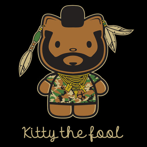 Kitty the Fool baby onesie