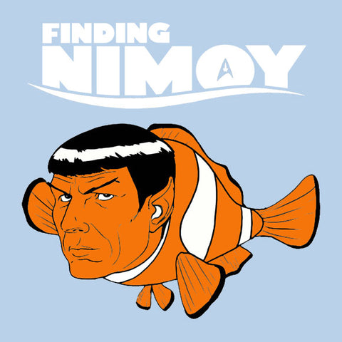 Finding Nimoy baby onesie