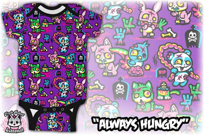 4a76076a2 Always Hungry Onesie for Babies