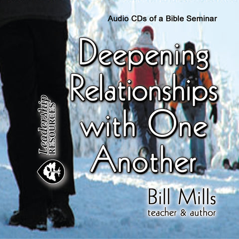 Deepening Relationships with One Another