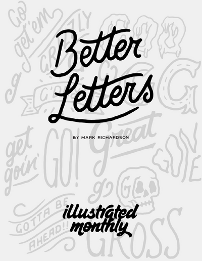 eBook Better Letters Mark Richardson