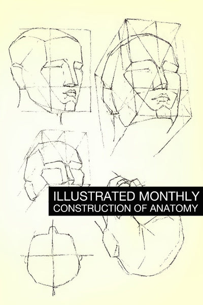 eBook Construction of Anatomy Illustrated Monthly