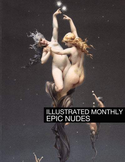 eBook Epic Nudes Illustrated Monthly