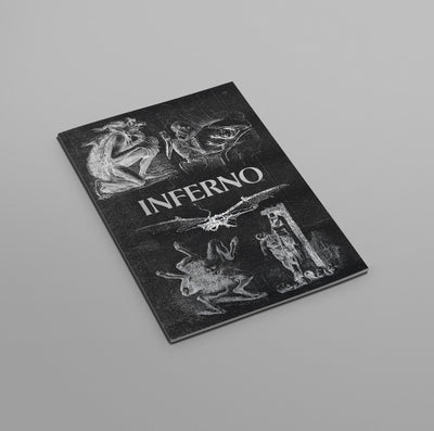 Book Inferno Illustrated Monthly