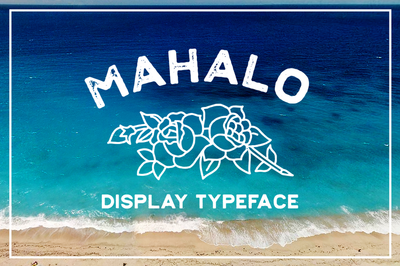 Fonts Mahalo Mark Richardson