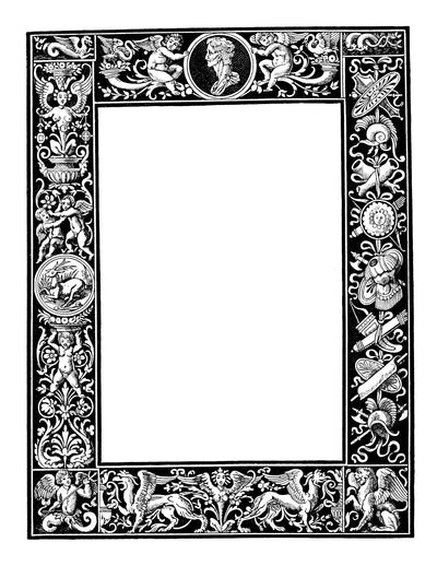 eBook Ornate Frames eBook Illustrated Monthly