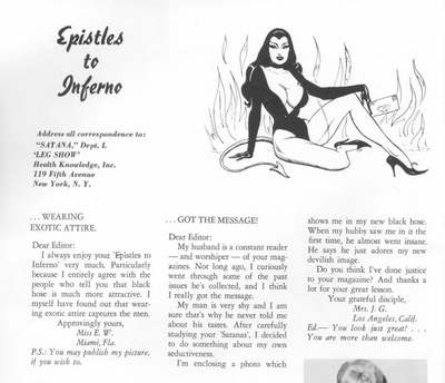 eBook Satana - vintage erotica Illustrated Monthly