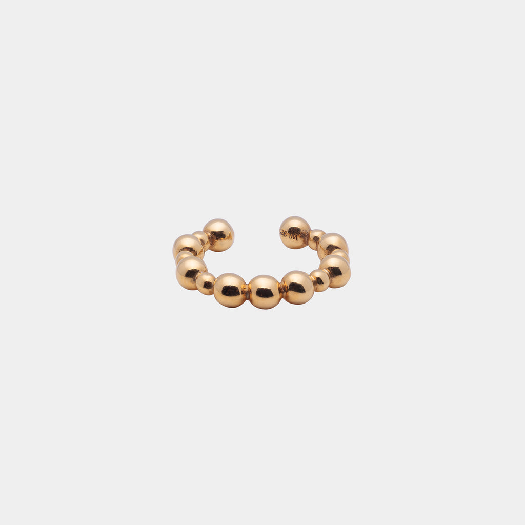 Spheric Ear Cuff Gold