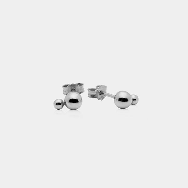 Stratos Studs Silver