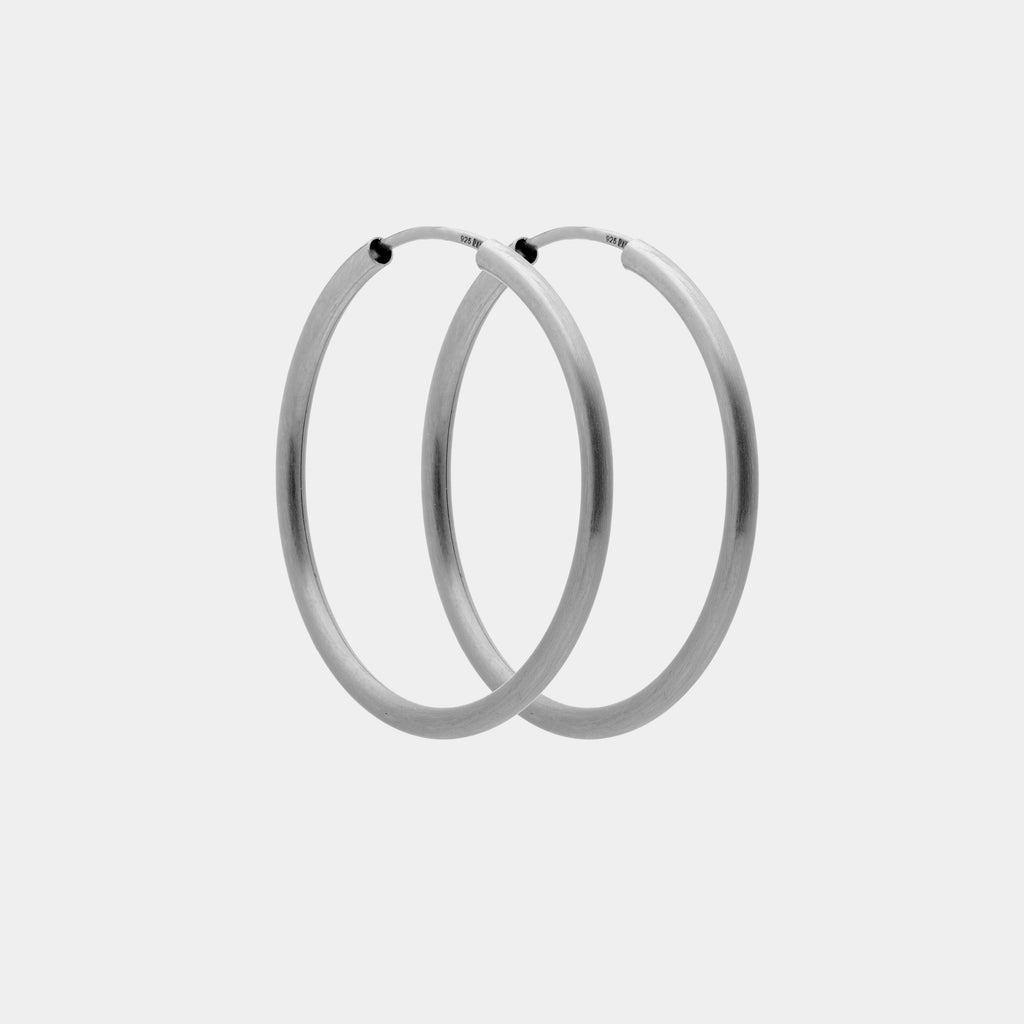 Classic Hoop Silver
