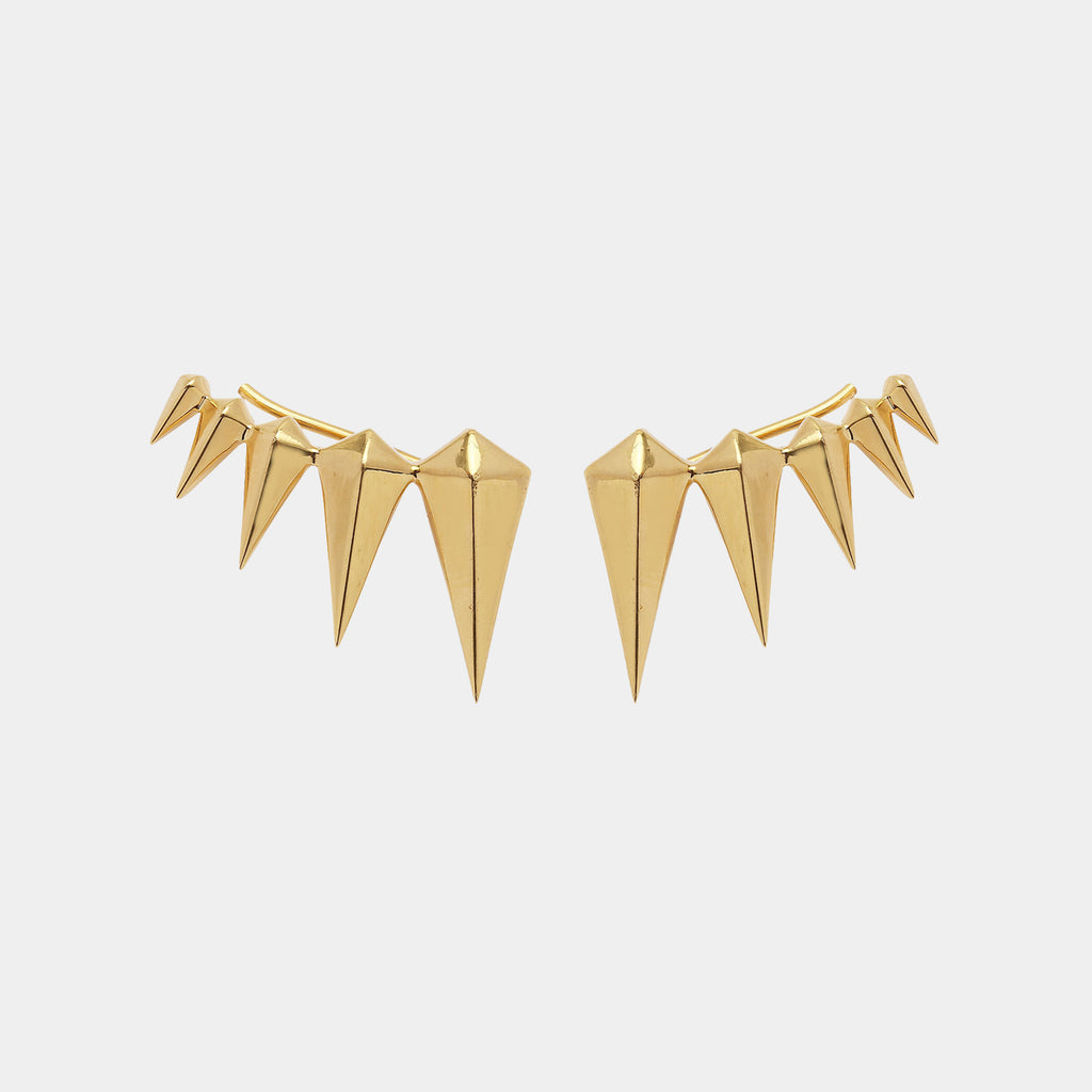 Fang Earring Gold