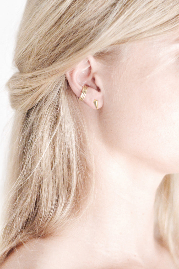 Triple Ear Cuff Gold