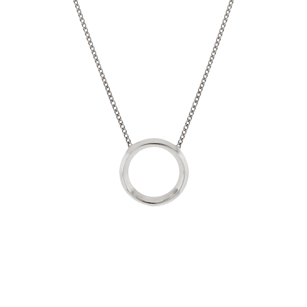 Moonlit Necklace Silver