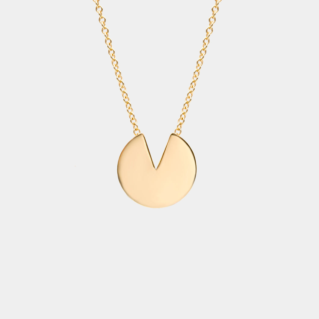 Semi Necklace Gold