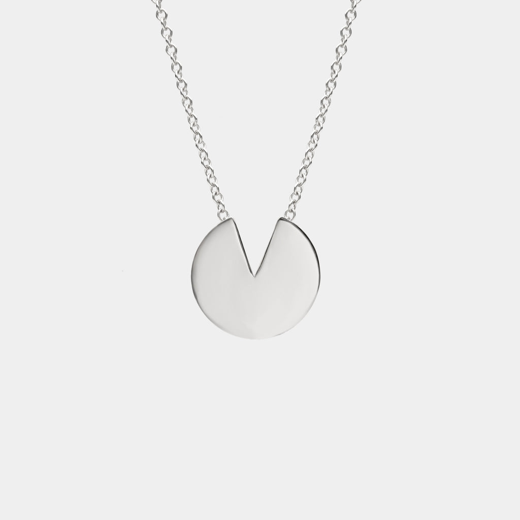 Semi Necklace Silver