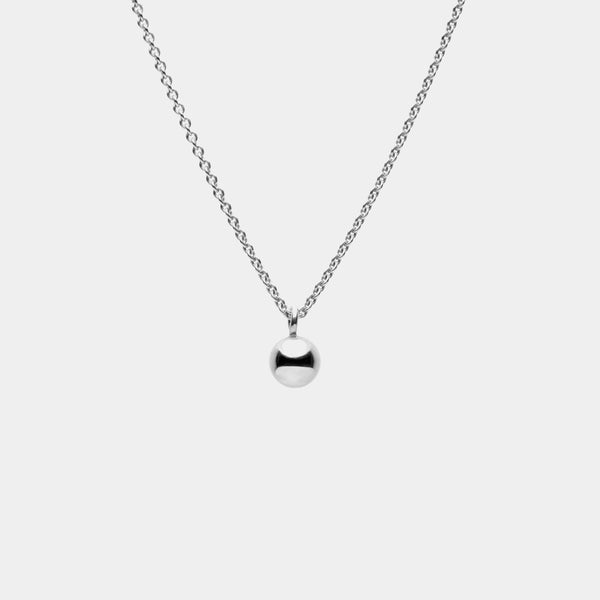 Stratos Necklace Silver
