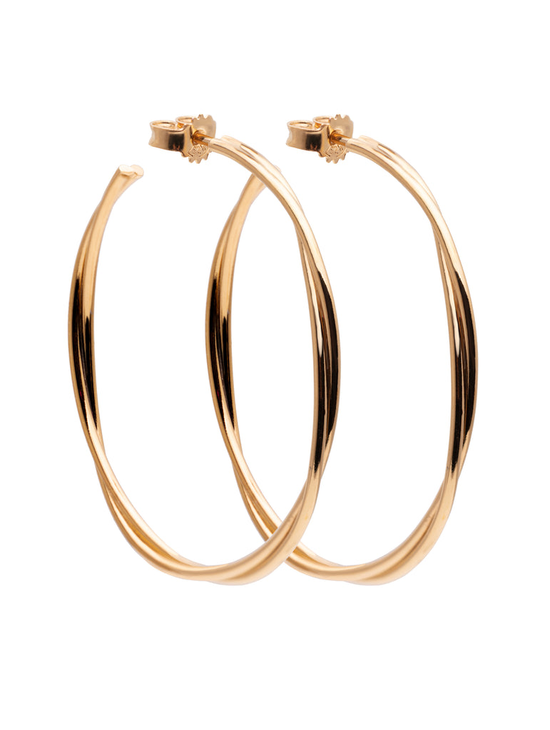 Twist Hoops Large