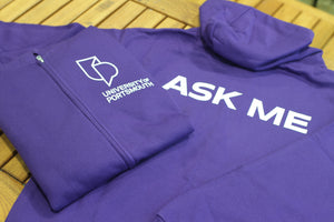 University Student Staff Purple Hoodie