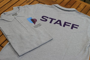 University Staff Grey Polo