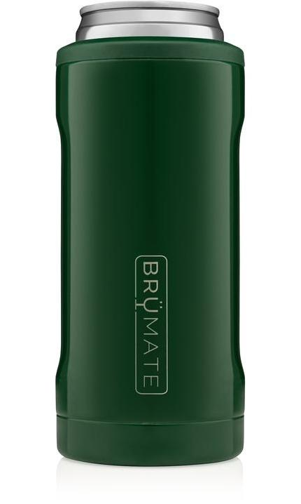 BrüMate Hopsulator Slim l Emerald Green (12 oz slim cans)