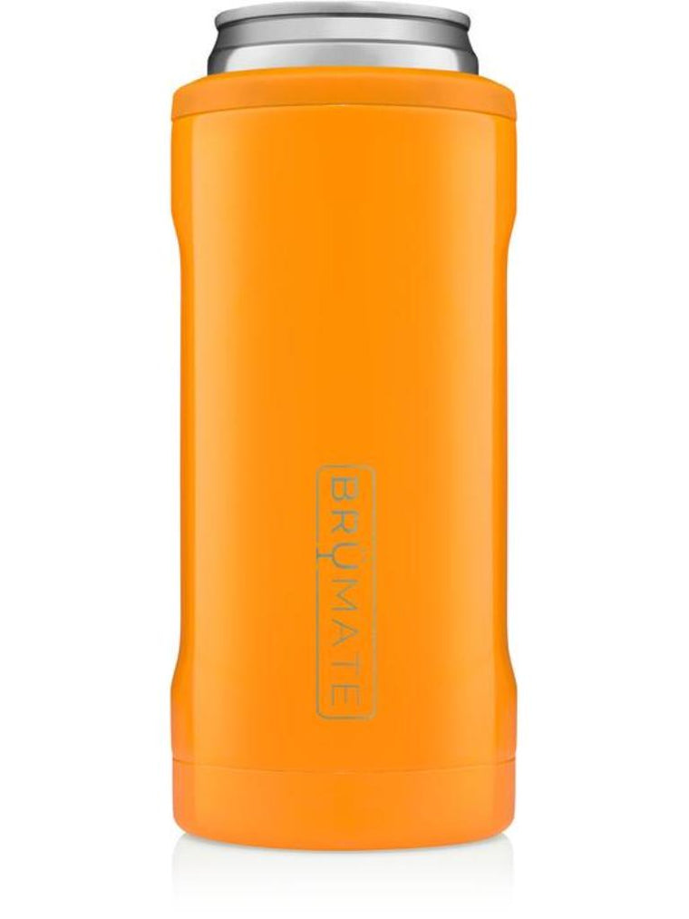 BrüMate Hopsulator Slim l Hunter Orange (12 oz slim cans)
