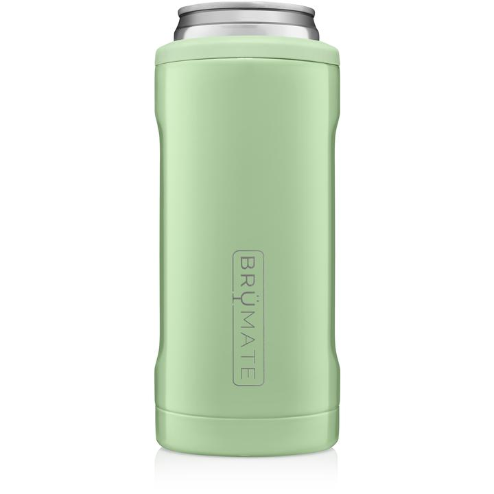 BrüMate Hopsulator Slim l Light Olive (12 oz slim cans)