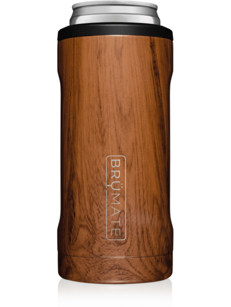 BrüMate Hopsulator Slim l Walnut (12 oz slim cans)