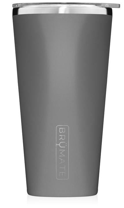 BrüMate Imperial Pint 20 oz l Matte Gray