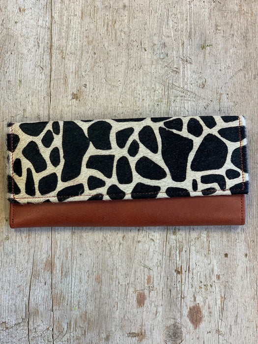 Austin Leather Hair on Hide Wallet