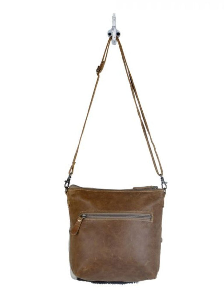 Myra Bag Engraved Crossbody Bag