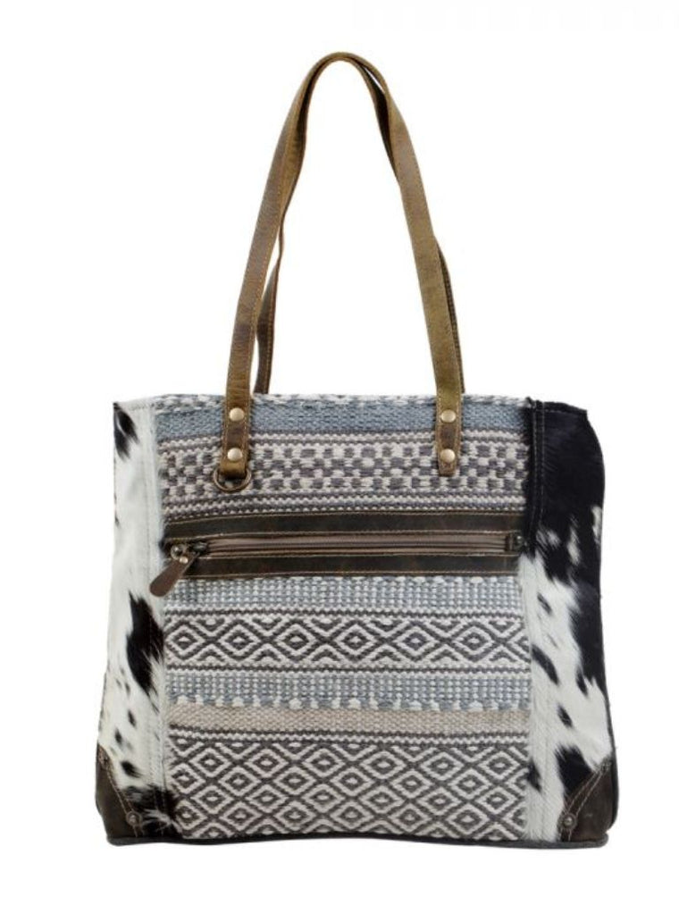 Myra Bag Multipatterned Tote Bag