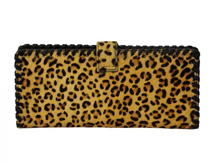 Myra Bag Valiant Leopard Print Wallet