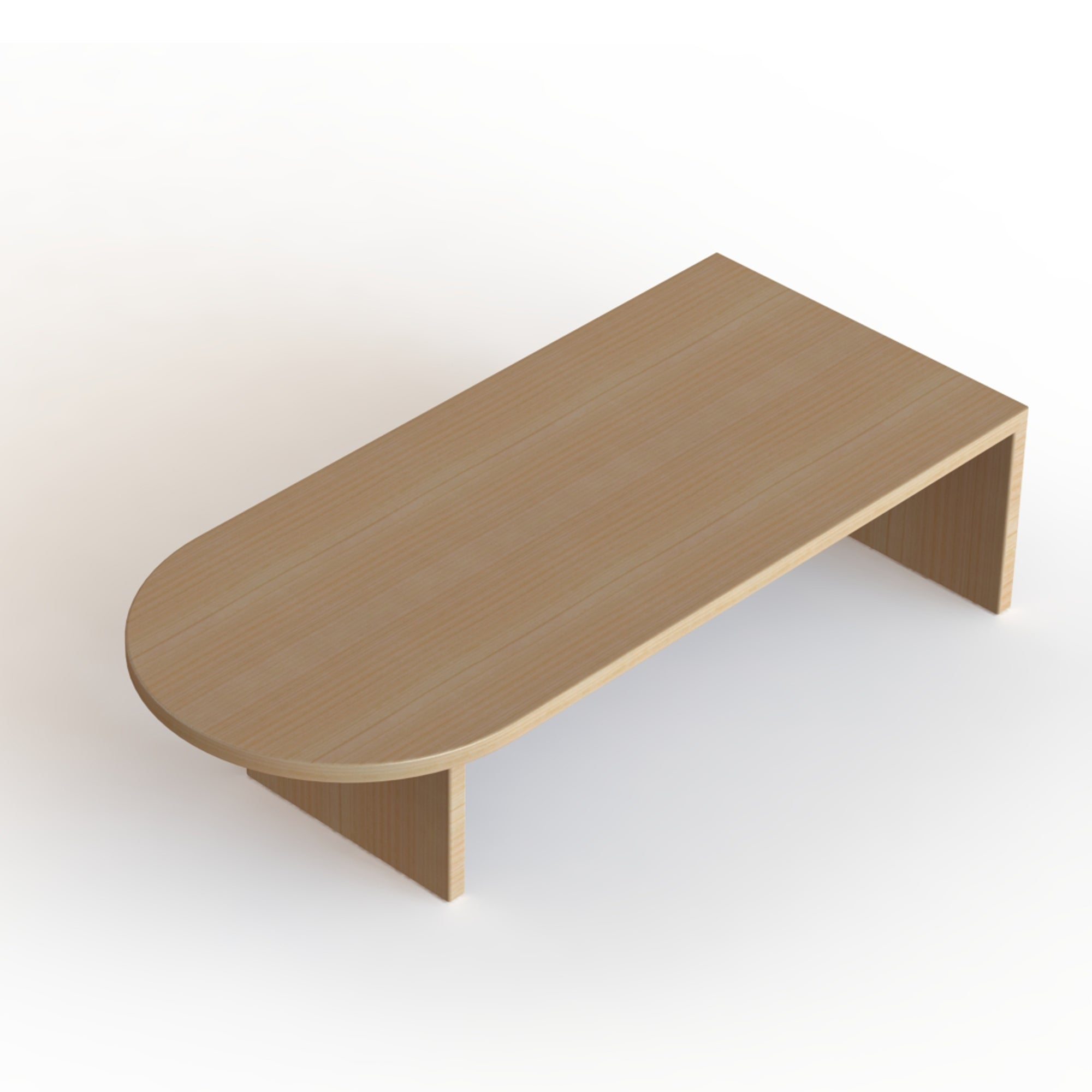 The Marc // Modern, Solid Wood Coffee Table with Drawer