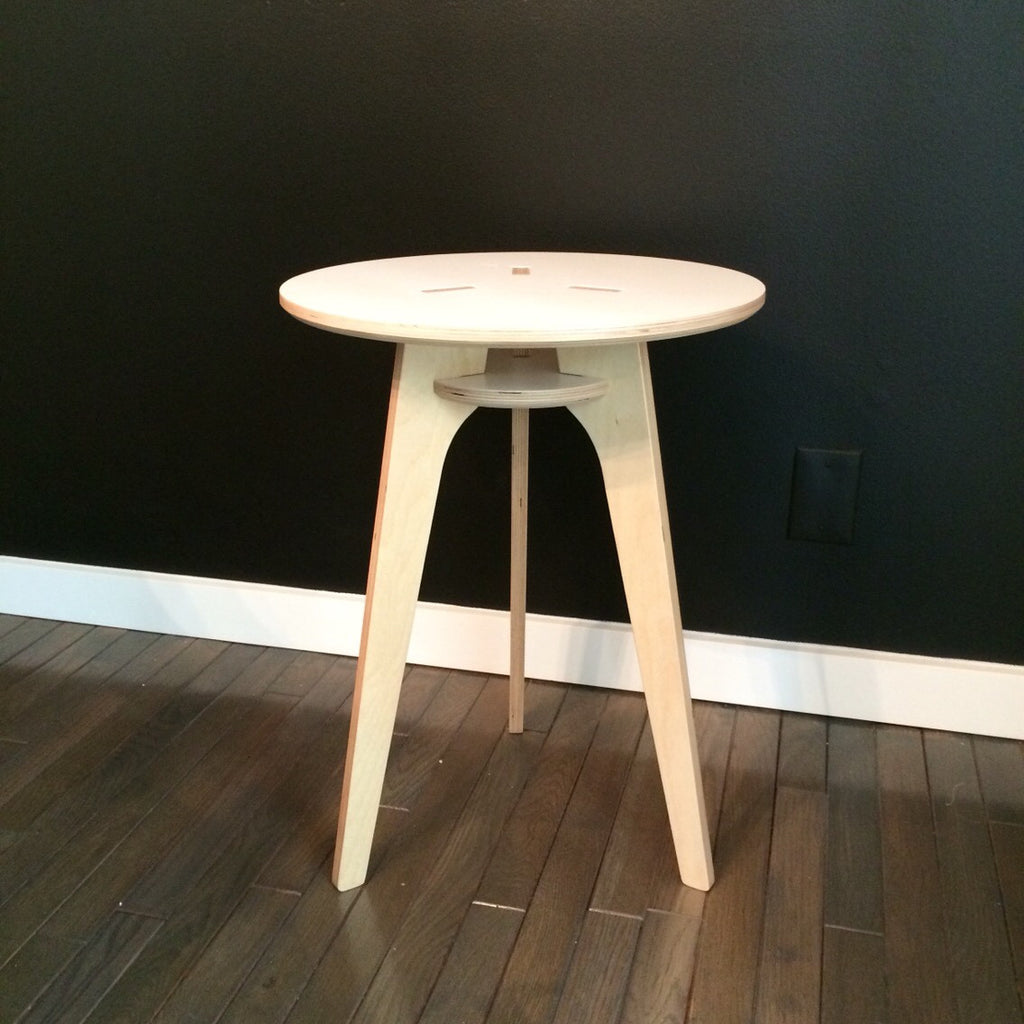 baltic birch modern side table  rocket mission. baltic birch modern side table