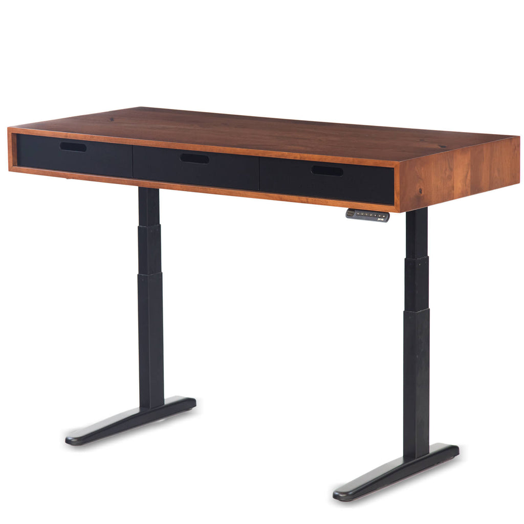 The Evolve   Modern Adjustable Standing Desk Featuring The Jarvis Electric  Base