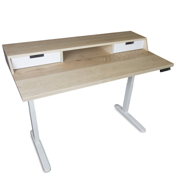 The Atwood - Mid Century Modern Adjustable Sit or Standing Desk