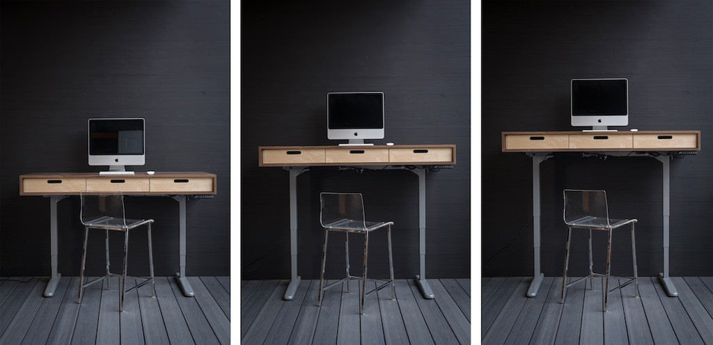 The Evolve - Modern Adjustable Standing Desk featuring the Jarvis Electric  Base