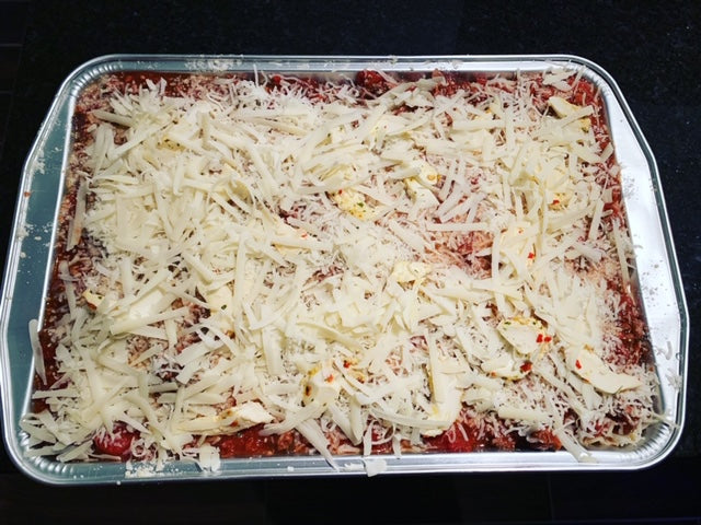 Meat Sauce and Cheese Lasagna