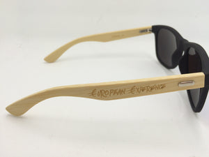 EuEx Wood Frame Sunglasses