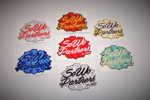 SoWo Partners Sticker Pack (7)